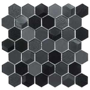Carbon Poly Wolf Accent Tile Choice Pittsburgh Tile Sales