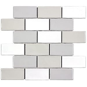 Winter Blocks Wolf Accent Tile Choice Pittsburgh Tile Sales